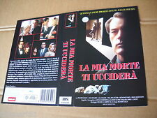 Locandina vhs LA MIA MORTE TI UCCIDERà (1994)    Cover Video originale - used
