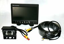 Rear View Camera and Monitor System for Motorhome / Truck