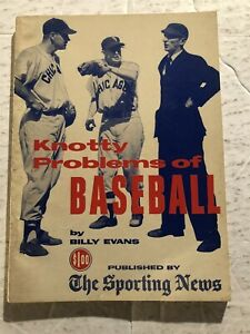 1958 Knotty Problems of Baseball CHICAGO WHITE Sox NELLIE FOX Ted Williams
