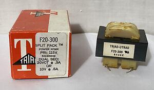 NOS Lot Of 5 Triad Split Pack Power Transformers F20-300