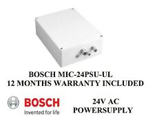 Bosch Mic-24Psu-Ul F01U133033 24Vac Power-Supply Mic300 400 550 Compatible