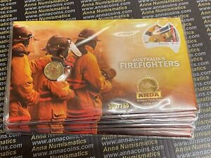2021 ANDA Brisbane Firefighters $2 OP PNC