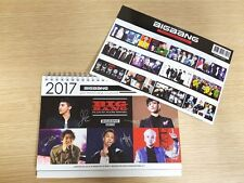 BIG BANG BIGBANG GDRAGON TOP COLLECTION 2018 2019 DESK CALENDAR + PAPER CALENDAR