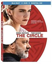 THE CIRCLE TOM HANKS(BLU-RAY+DVD+DIGITAL HD)W/SLIP COVER BRAND NEW UNOPENED