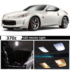 10x White Interior License Plate LED Light Package Kit Fit 2009-2016 Nissan 370z