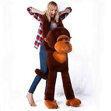 Brown Plush Monkey StuffedGiant Huge Large130CM animals Soft  Toys Doll gift hot