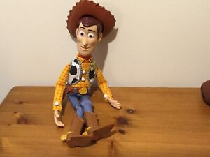 Disney Toy Story Talking Woody Doll Including Hat
