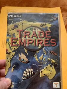 Trade Empires -  Trading Game - PC CD-ROM (New & Sealed) - Retro Game