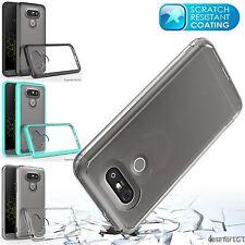 Madcase Clear Scratch Resistant Transparent Hard Back Durable Case for LG G5