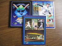 1998 TampaBay Inaugural Game Program 7/1998 Official Magazine & 7/9/98 Scorecard