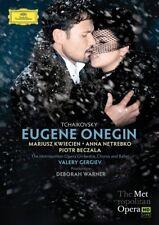 TSCHAIKOWSKI: EUGEN ONEGIN 2 DVD NEW+ - KWIECIEN, NETREBKO, BECZALA