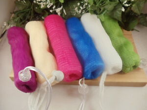 Soap Saver Pouches - Great for Exfoliation - Helps Extend Life of Soap
