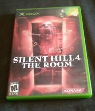 Silent Hill 4: The Room (Microsoft Xbox, 2004) Complete Very Nice Tested Works
