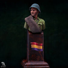 Republican Soldier at Spanish Civil War Painted Toy Bust Pre Sale | Museum