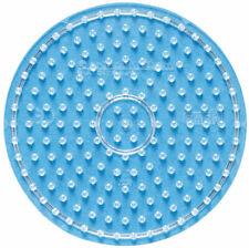 Hama Maxi Bügelperlen Stiftplatte transparent 8220 Kreis