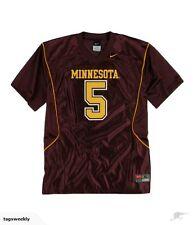 Nike #5 LADIES Team Minnesota College Football TShirt SZ L 16/18 Retail @$45.00