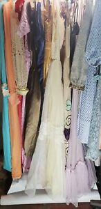 Lot Of 19 Vintage 60's - 70's  Party , Eveing, Dresses / Resale