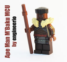 LEGO Custom Ape Man Mbaku Marvel Super heroes minifigures Black Panther MCU