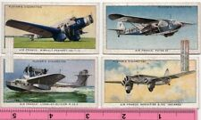 Air France Airlines Planes Dewoitine Wibault-Penhoet Potez 4 1930sTrade Ad Cards