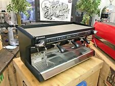 RANCILIO CLASSE 9 3 GROUP ESPRESSO COFFEE MACHINE LARGE PROFESSIONAL COFFEE BEAN