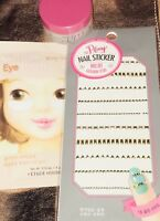 Korean Beauty Set Zero Banila Clean It Zero Etude House Nail Sticker Eye Patch