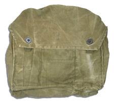 Finnish Gas Mask Bag Distressed 5col Finland Military Surplus Shoulder Satchel