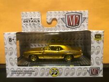 1/64 M2 MOON EYES 1969 CHEVROLET CAMARO Z/28 RS LIQUID GOLD CHASE CAR