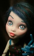 ☆50%OFF SALE☆ OOAK Monster High Frankie Stein Collector Doll Repaint by J.S.A.L.
