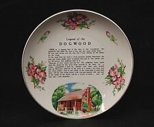 "Old Vintage Legend of the Dogwood Wall Hanging 7-5/8"" Collector's Plate"