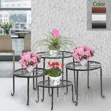 4 in 1 Set Blumenständer Blumenregal Blumenhocker Pflanzenständer Hocker Regal