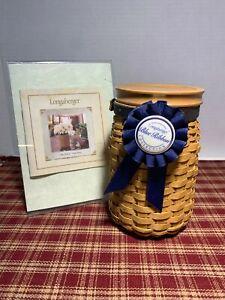 "Longaberger ~ 2003 Blue Ribbon Collection, ""Pride"" Basket"