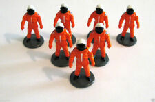 7 Astronaut Micro Figures in Space Shuttle Astronaut Suits