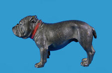 French Bulldog - Boston Terrier sehr seltene, große Wiener Bronze um 1900
