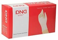 DND LATEX GLOVES GENERAL PURPOSE POWDER FREE SMOOTH (SMALL )100CT/BOX