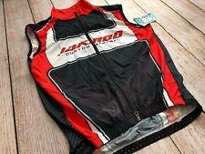 Jakroo Custom Apparel Logo Windbreaker Cycling Full Zip Vest Men 2Xl Xxlarge�H6