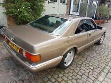 mercedes 1989 W126 500 sec coupe