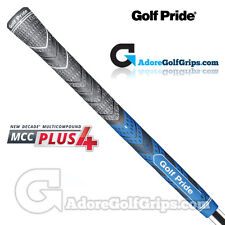 Golf Pride New Decade Multi Compound MCC Plus 4 Grips - Black / Blue  x 13