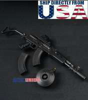 """1/6 Scale AK47 Tactical Gun Toys Weapon Models A  For 12"""" Soldier Figure U.S.A."""