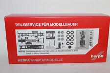 Herpa 082723 LKW-Fahrgestell MAN TGX 3-achs Abrollkinematik 1:87 H0 NEU in OVP