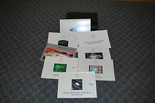 2002 MERCEDES-BENZ S CLASS  OWNER'S MANUALS WITH CASE FREE SHIPPING AS ALWAYS!!