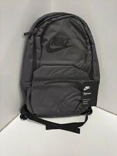 NIKE unisex-adult Heritage Backpack, Thunder Grey/Black/Black