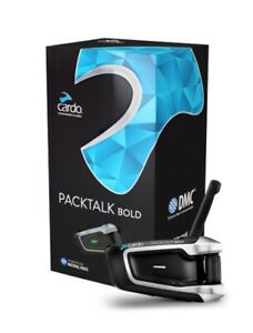 NEW Cardo Packtalk Single PTB00001 JBL Speakers Headset Communication