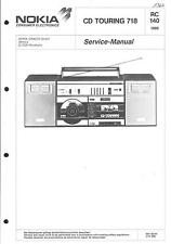 Nokia Original Service Manual für CD Touring 718  ITT