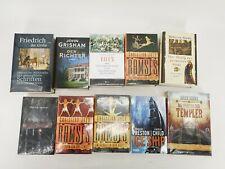 20 gebundene Romane neu und verschweist, John Grisham, Patrick Dunne u. ander