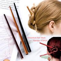 3Pcs Wooden Hair Sticks Natural Hairpin Hair Accessory Hair Chopsticks for Women