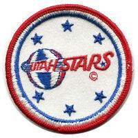"1970'S UTAH STARS ABA BASKETBALL DEFUNCT TEAM 3"" PATCH"