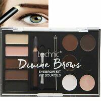 Technic Divine Brows Eyebrow Kit Powder Pencil Wax Tweezers...999203-F06