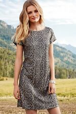 Next Leopard animal print Sequin Party Dress - Size 8