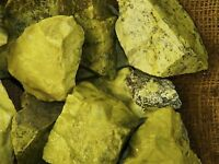 3000 Carat Lots of High End Serpentine Rough - Plus a FREE Faceted Gemstone