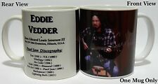 EDDIE VEDDER / PEARL JAM - Coffee Mug - Boxed